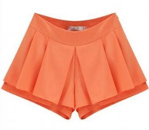 Grace Petite Shorts / Skorts in Coral | UK Size 4 - 8